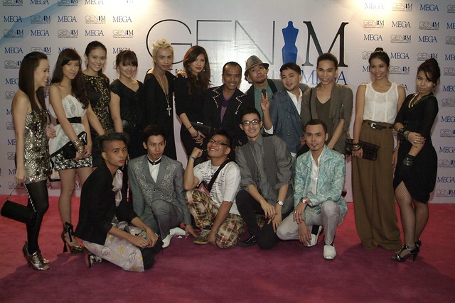 Group shot  of the 18 designers finalist for Gen M 2011