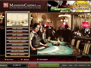 Mansion Casino Lobby