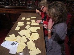 Reviewing questions for Candy Crowley.