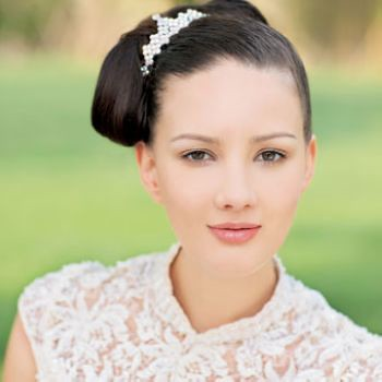 wedding hairdos. Fairytale butterfly wedding hairstyle