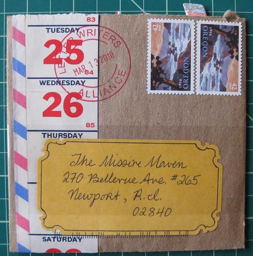 LWA postmark
