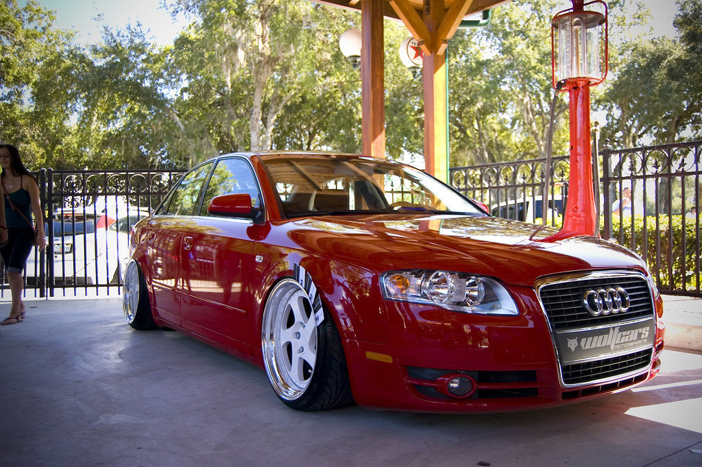 Well Fitted Audi A4 Stancenation Form Gt Function