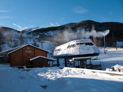Cerler, esqui, nieve, reserva