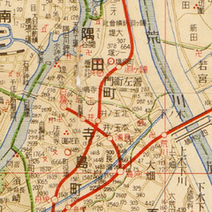 Tamanoi Map on 1931(S06)