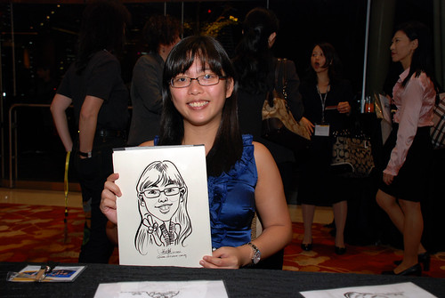 caricature live sketching for 2010 Asia Pacific Tax Symposium and Transfer Pricing Forum (Ernst & Young) - 15