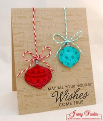 Holiday Wishes card (weememories (Jenny)) Tags: cg222 cg221
