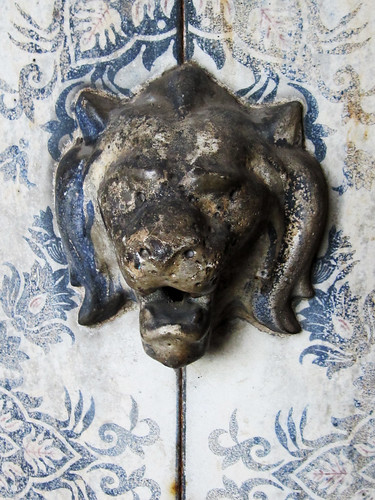 Vintage Lion Head Ornament