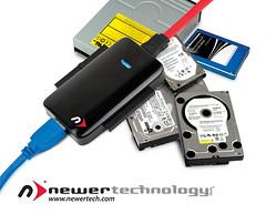 NewerTech Announces USB 3.0 Universal Drive Adapter
