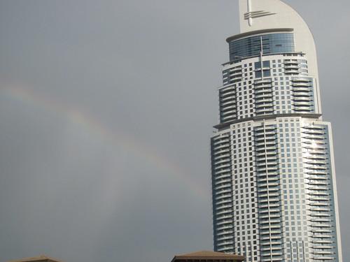 Rainbow at Address Hotel Dubai