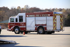 Edmond Fire & Rescue (Rescue 1) (Brett Conner) Tags: red rescue oklahoma truck canon fire eos big reserve firetruck pierce edmond enforcer 50d oklahomacounty rescue1 canoneos50d brettconner edmondfirerescue