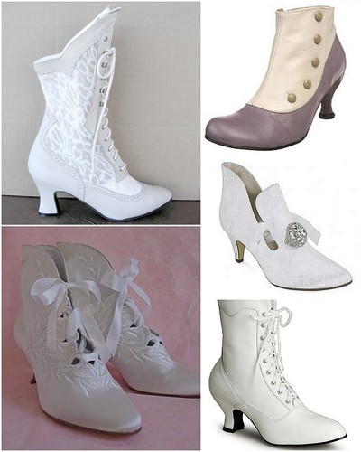 Bridal boots image credits clockwise form upper left Sat 39n Spurs Endless
