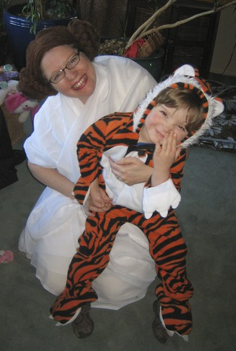 princess leia and tigger tiger