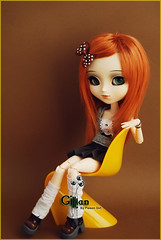 Gillian - Pullip Kaela (-Poison Girl-) Tags: new orange white green girl sisters hair ginger eyes doll closed dolls eyelashes ivy pale redhead wig groove pullip gillian poison kaela pullips poisongirl eyelids eyechips junplanning rewigged obitsubody zuora rechipped pullipzuora sbhm pullipkaela