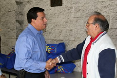 Councilmember Jose Huizar-Boyle Heights Senior Center-Turkey Giveway-Thanksgiving