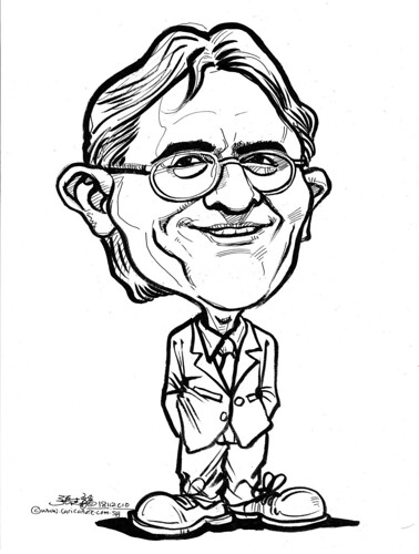 caricature for DHL - 1