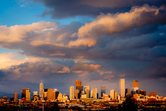 Denver Skyline (Dan Ballard Photography) Tags: city light sunset favorite dan beautiful skyline rockies colorado gallery cityscape photographer pics top denver best photographs photograph ballard photograpy milehighcity danballard danballardphotography