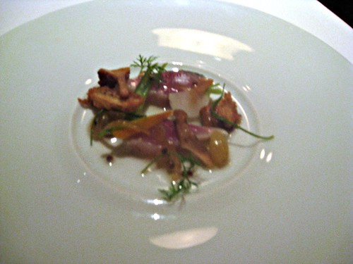 Manresa - Los Gatos, CA - November 20, 2010 - Golden Raisins and Vegetables, Pickled with Mackerel