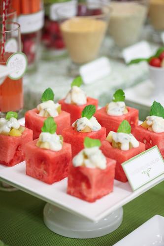 veggie dessert table 3