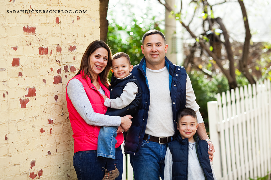 Parkville Missouri family portrait session