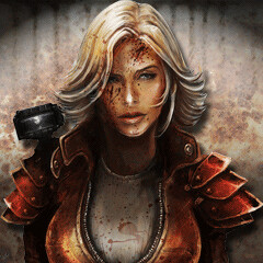Dead Nation Zombie Avatars - The Heroine