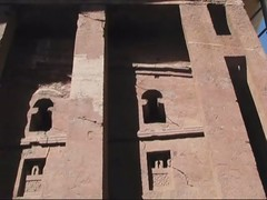 Bet Medhane Alem (Linda DV (away)) Tags: africa travel church canon geotagged video ethiopia orthodox 2010 lalibela rockchurch christianism powershots5is lindadevolder