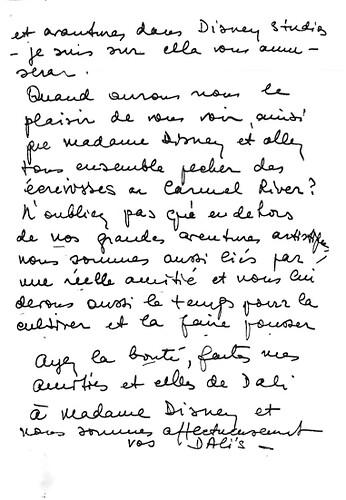 Walt Disney, Salvador Dali & 'Destino' (3c)