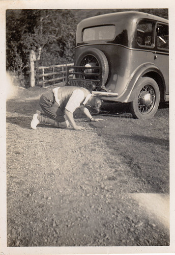 On the road....in 1935.