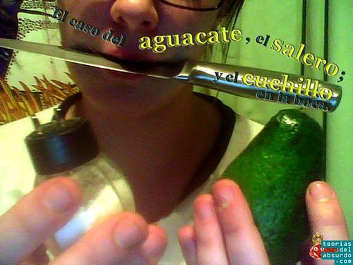 el caso del aguacate el salero y el cuchillo en la boca