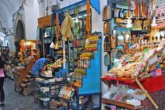 shopping in the Medina - Tunis, Tunesia (Marjan de B) Tags: africa travel vacation tunis tunesia september medina 2010 deblaauwpix