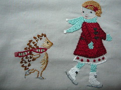 Winter Embroidery (2mayboys) Tags: