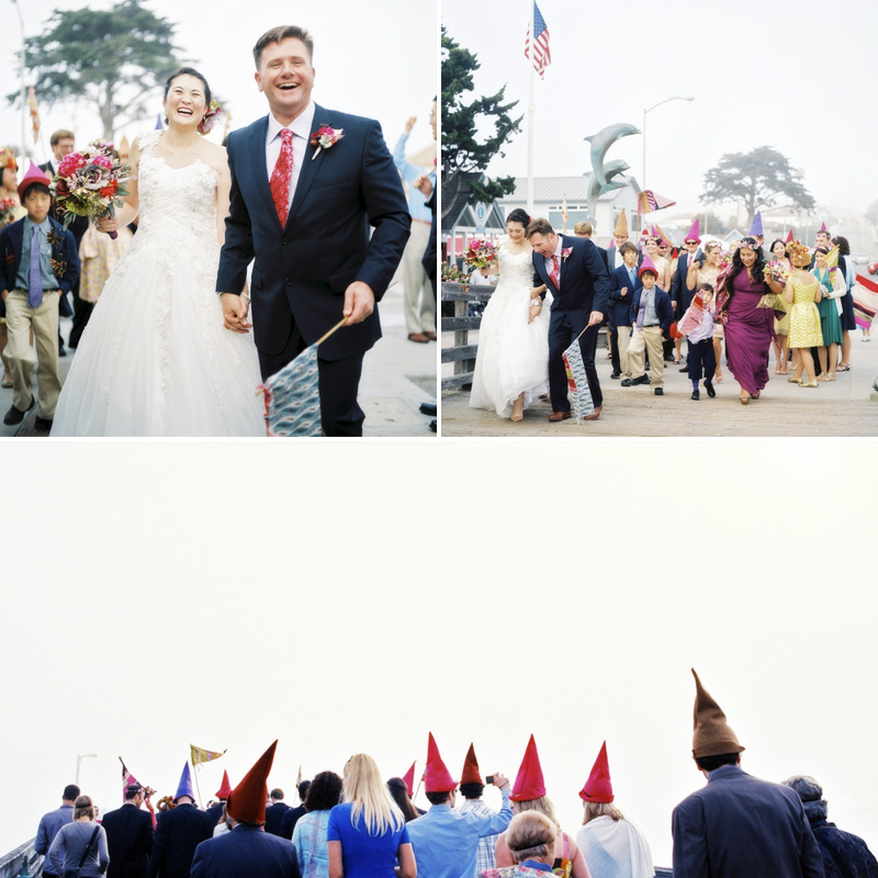 B&M - Wimsical Wedding on The Central Coast