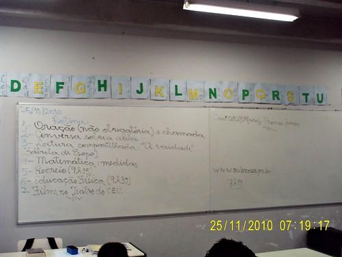 Rotina prevista - e cumprida (25/11/2010)