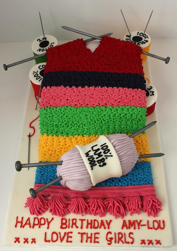 happy birthday cake | KnitHacker