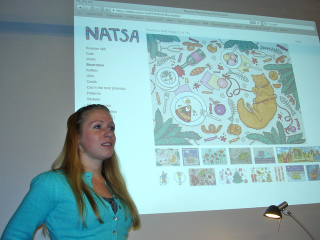 Natalia Illarionova @ Behance Russia Meet Up 2