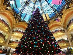 Paris - day 4 (amy's antics) Tags: christmas decorations paris tree lights store parcels balconies galerieslafayette baubles