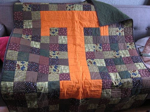 """""""T"""" Quilt done!"""