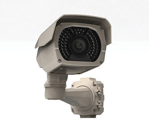 Outdoor camera with integrated IR illumination from Rainbow