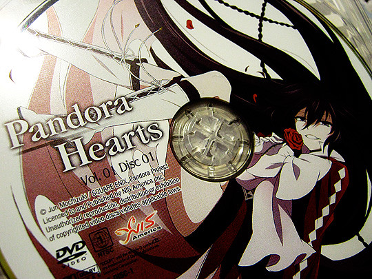 Disc 1 of Pandora Hearts
