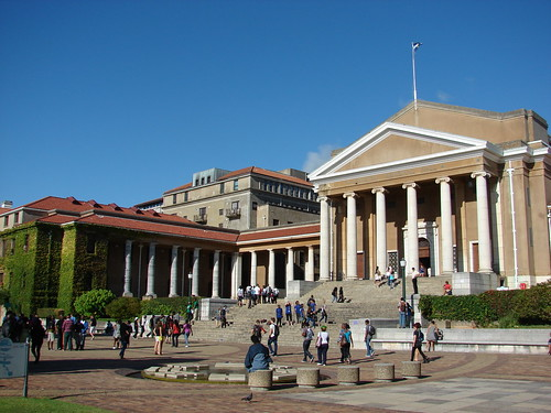 0202 - Jameson Hall at the University of Cape Town
