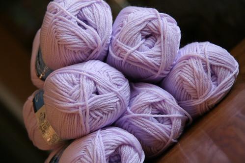 berroco comfort - lavender