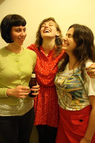 ladies laughin'