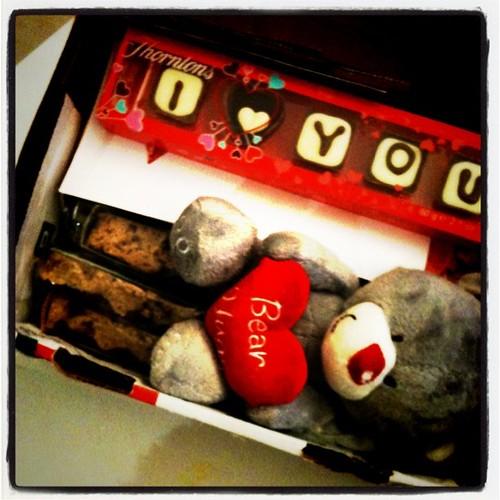 收到情人節包裹!會不會太幸福了?收到情人節包裹!會不會太幸福了?