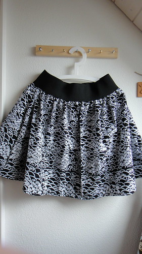 The poofy skirt
