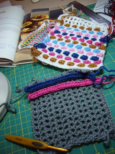 potholders in progress