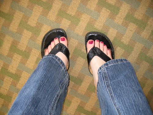 fiip flops pedicure