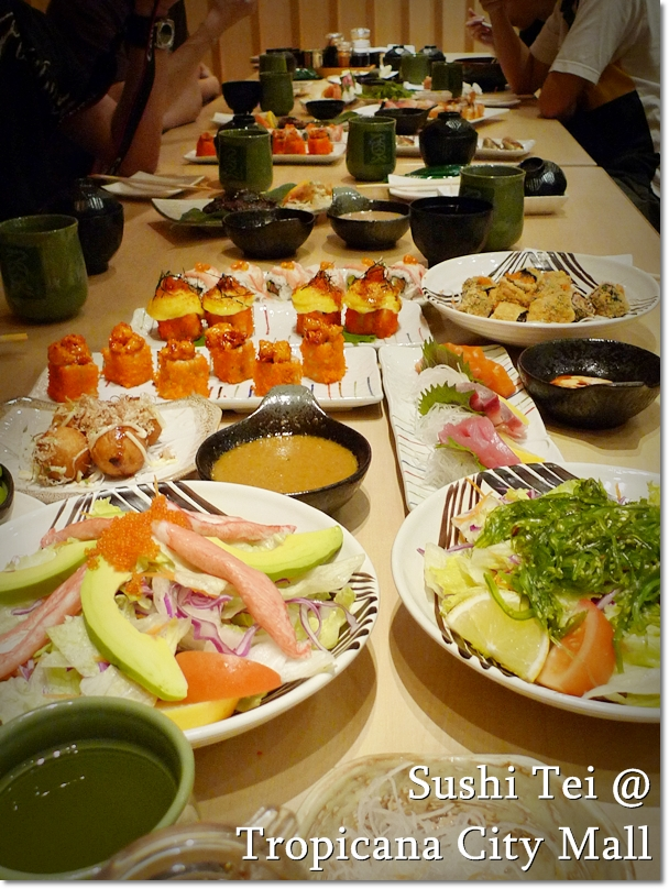 Sushi Tei @ Tropicana City Mall