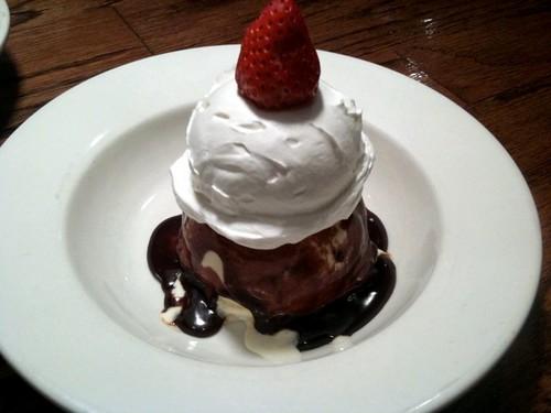 チョコレート・サンデー 680円