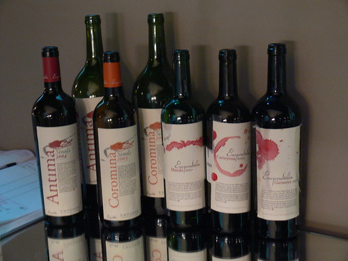 Els vins tastats dEmpordàlia