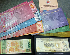 Sri Lanka New Notes