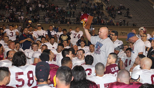 East LA Alumni Classic-High School Football-Garfied Bulldogs-Roosevelt Rough Riders-ELACC